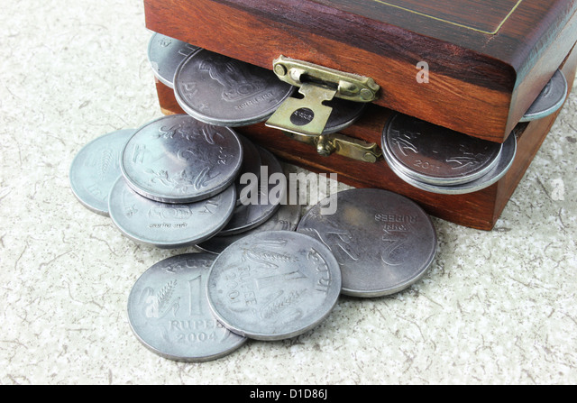 The Money Overflow - Stock Image