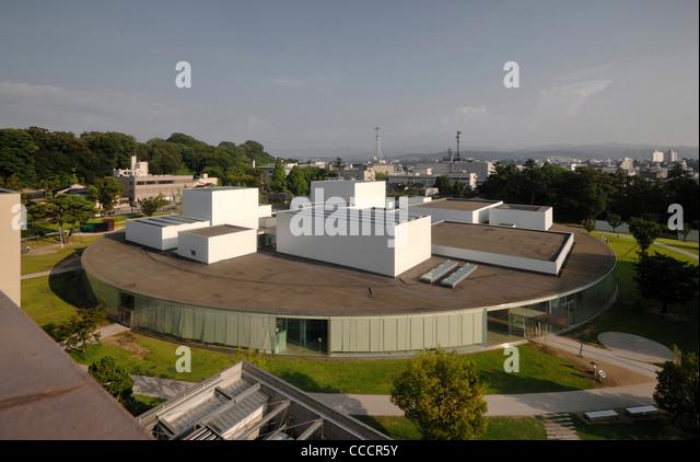 21st Century Museum Kanazawa Stock Photos & 21st Century Museum Kanazawa ...