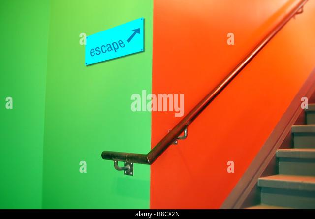 FV2024, Benjamin Rondel; Stairwell - Stock Image