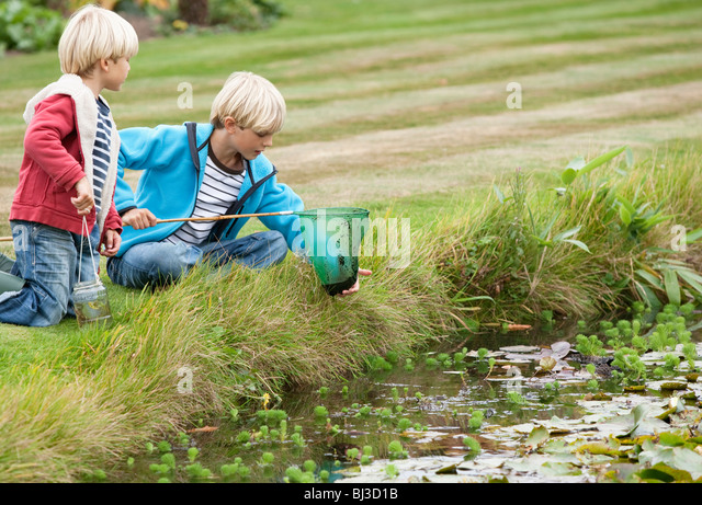 Pond net stock photos pond net stock images alamy for Stocked fishing ponds near me