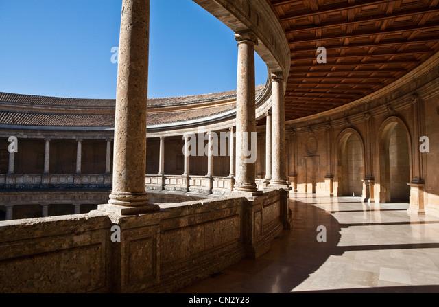 Alhambra, Granada, Spain - Stock Image