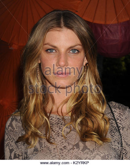 Angela Lindvall. 12th Annual Art For Life Benefit at a Private Residence in East Hampton, NY. - Stock Image