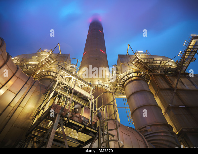 Coal Fired Power station - Stock Image