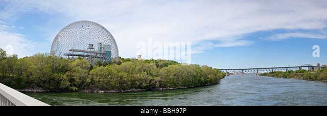 Biosphere, Environment Museum, Montreal, Quebec, Canada - Stock Image
