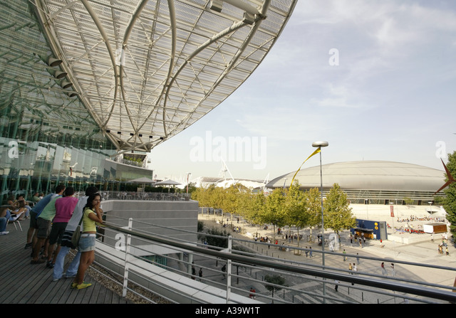 Lisboa Olympic sports arena - Stock Image