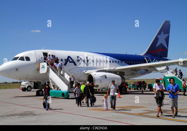 Mendoza Argentina Aeropuerto Internacional Gobernador Francisco Gabrielli y El Plumerillo MDZ International Airport - Stock Image