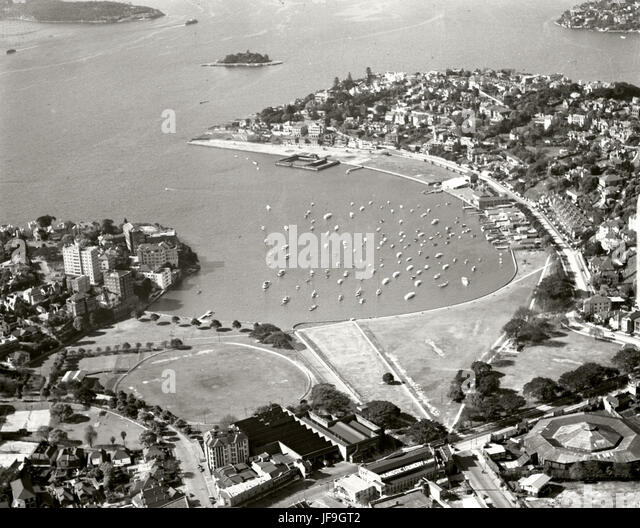 Rushcutters Bay - 31 Aug 1937 29641047154 o - Stock Image