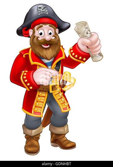 Captain N Cartoon Characters : Pirat stock photos images alamy