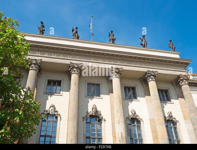 Humboldt Universität Berlin - Stock-Bilder