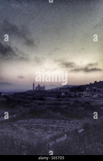 Ta Pinu at dawn - Stock Image