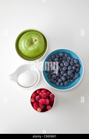 healthy foods - Stock Image
