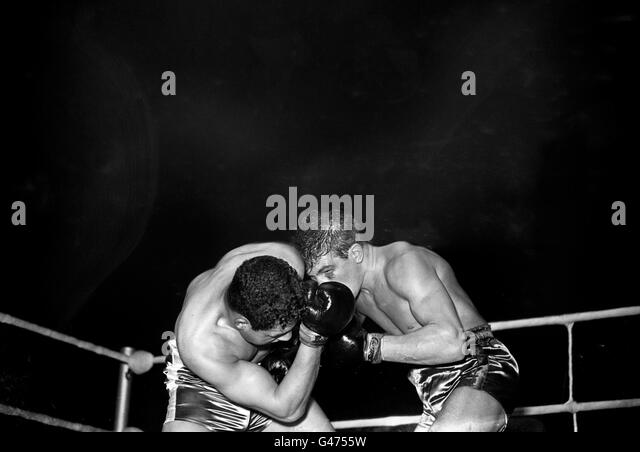 Boxing - Light Heavyweight - George Walker v Brian Anders - Empress Hall, Earl's Court - Stock Image