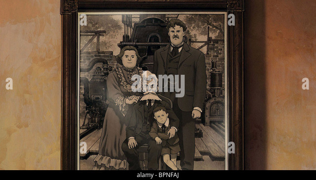 STEAM FAMILY PHOTOGRAPH STEAMBOY (2004) - Stock Image
