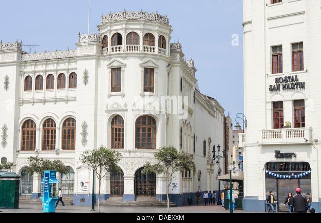 Gran Hotel Bolivar, Lima, Peru, South America - Stock Image