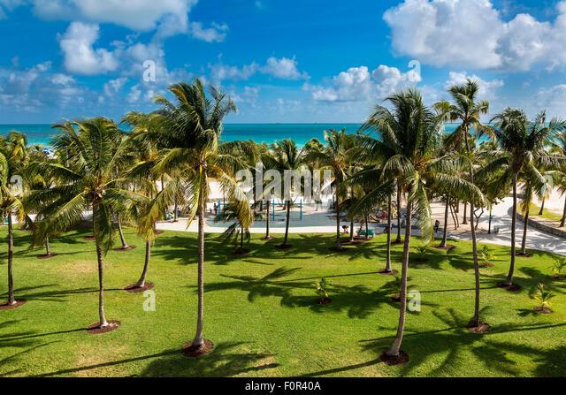 Miami, Lummus Park - Stock Image