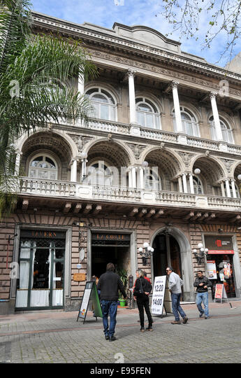 Tavern La Corte Ciudad Veija Montevideo Uruguay - Stock Image