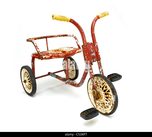 Classic Tricycle - Stock Image