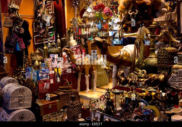 Oman, Muscat, Mutrah Souk traditional bazaar - Stock Image