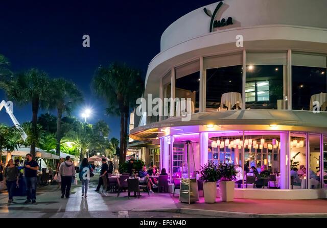 Yuca Restaurant Lincoln Road Miami Beach