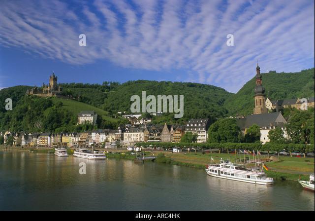Rheinland stock photos rheinland stock images alamy - Cochem alemania ...
