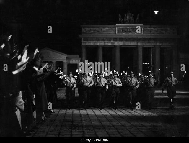 The seizure of power of the National Socialists, 1933 - Stock Image