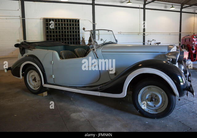 1947 Sunbeam Talbot on show at Bletchley Park, Buckinghamshire - Stock Image
