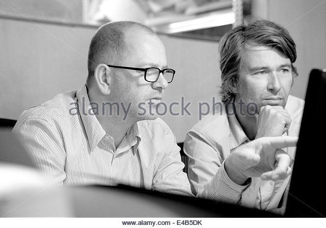 Pearson and Lloyd at Work, London, United Kingdom. Architect: Pearson and Lloyd, 2014. - Stock Image