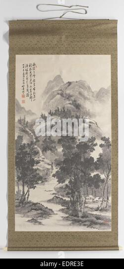 Summer landscape, Suzuki Shonen, 1908 - Stock Image