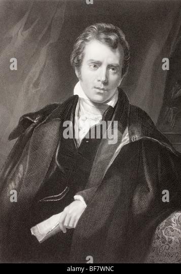 Sir David Wilkie, 1785 to 1841. Scottish artist. - Stock Image