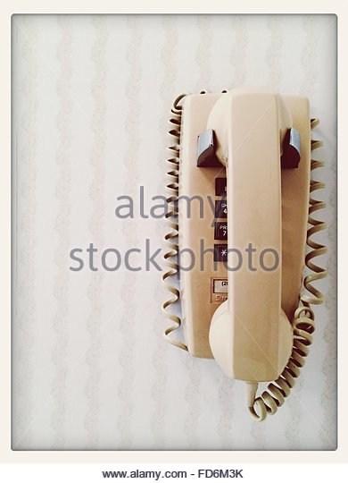 Old Fashioned Telephone - Stock-Bilder