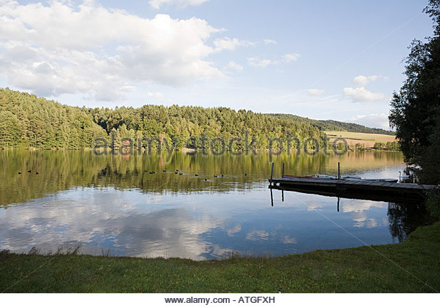 Bavarian lake - Stock-Bilder