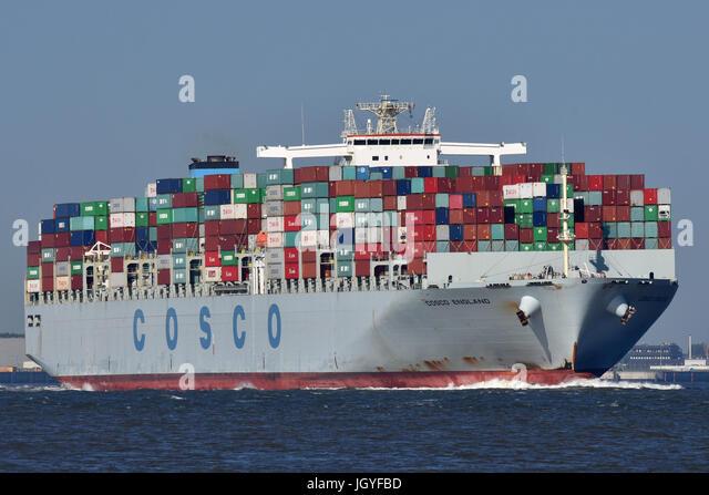 COSCO England - Stock Image