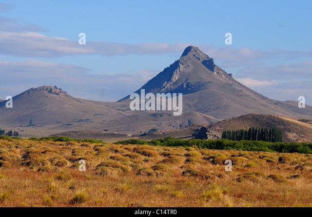 Tipiliuke Mountain in Patagonia, Argentina - Stock Image