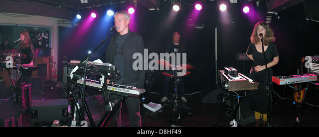 John Foxx and The maths performing at the Manchester Academy Friday 21st October 2011 , England, UK - Stock Image