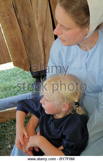 Pennsylvania Kutztown Kutztown Folk Festival Pennsylvania Dutch folklife Amish heritage religion tradition custom - Stock Image