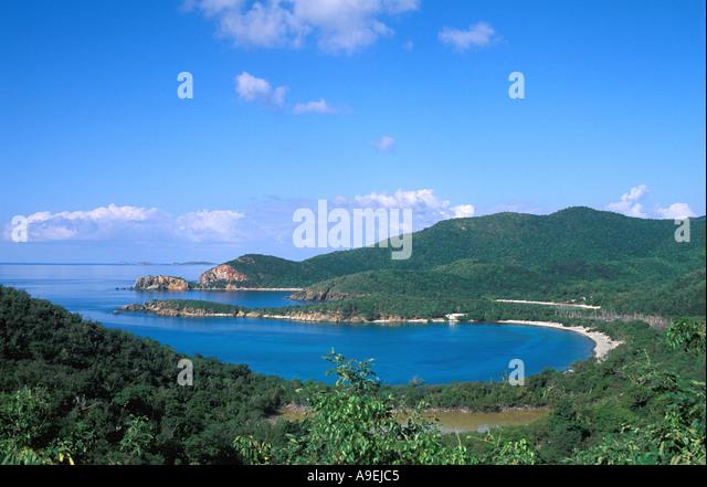 St John USVI National Park Lameshur Bays - Stock Image