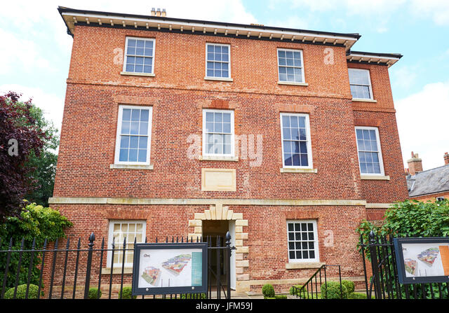 Palace House, National Heritage Centre For Horse Racing And Sporting Art, Palace Street, Newmarket, Suffolk, UK - Stock Image