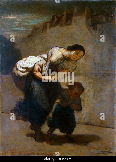 The Burden', 1850-1852. - Stock-Bilder