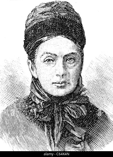 ISABELLA BIRD (1831-1904) English explorer and natural history writer - Stock Image