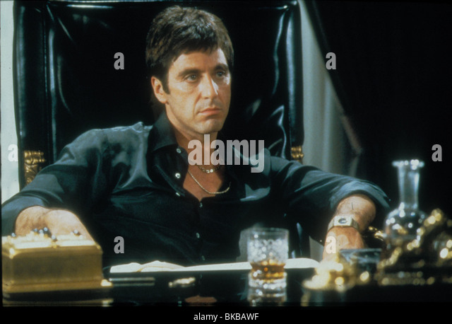 Scarface stock photos scarface stock images alamy - Scarface images ...