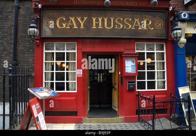from Tyrone gay hussar restaurant london