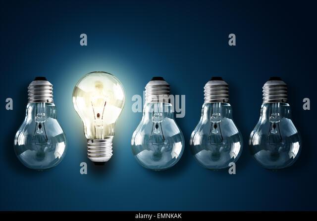 Creativity and innovation - Stock Image