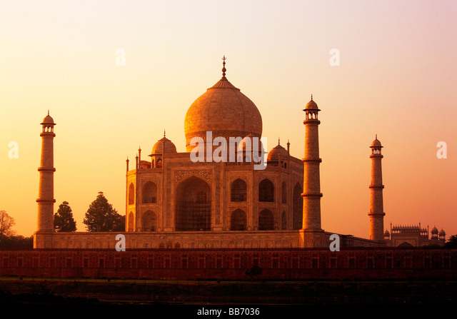 Taj Mahal, Agra, India - Stock-Bilder