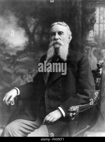 John Grimes Walker, admiral in the United States Navy who served during the Civil War. - Stock Image