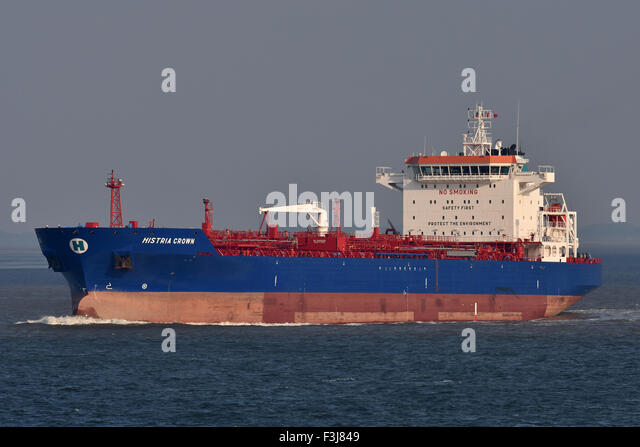 Chemical/Oil Products Tanker Histria Crown - Stock Image