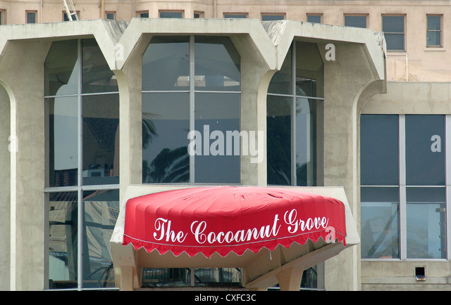 Coconut Grove, Ambassador Hotel Los Angeles - Stock Image
