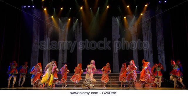 London, UK. 25th May, 2016 The Merchants of Bollywood at The Peacock Theatre London UK Credit:  Leo Mason sports - Stock Image