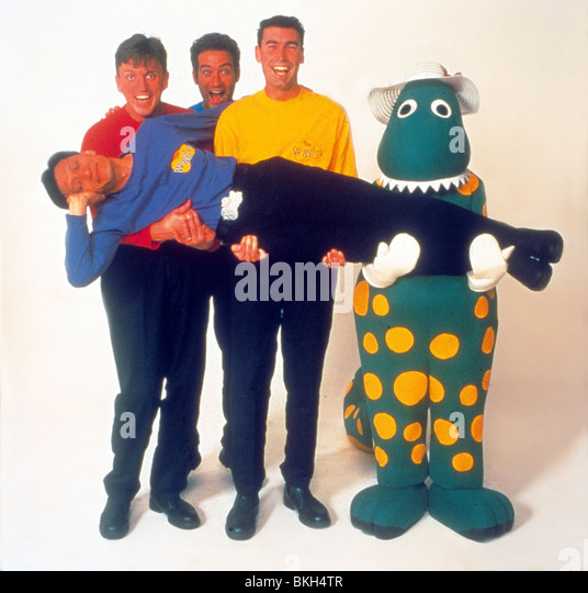 THE WIGGLES MOVIE -1997 - Stock Image