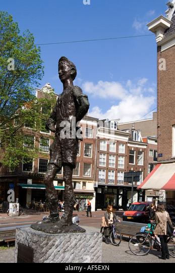 Amsterdam Spui - Stock Image