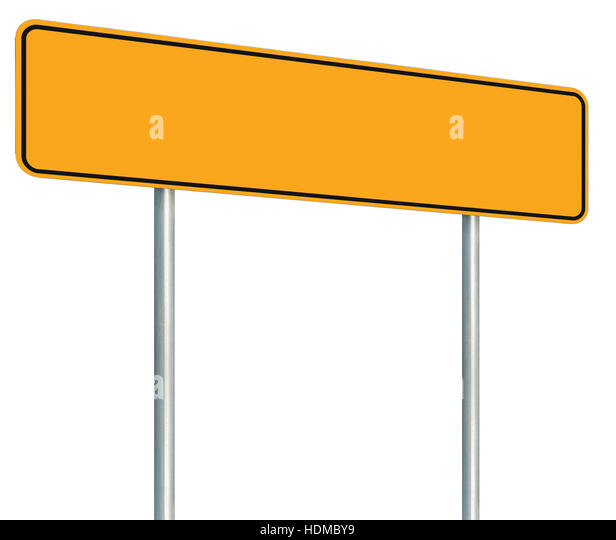 Signboard Yellow Black Stock Photos Amp Signboard Yellow